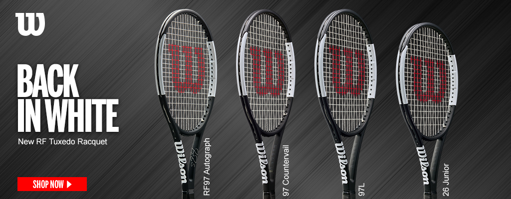 New Pro Staff RF97 Autograph by Roger Federer | Wilson Racquets