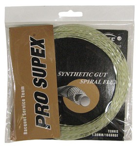 Synthetic Gut Spiral Flex 16G 1.30mm Amber/Gold Spiral