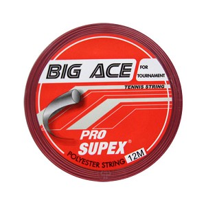 PRO SUPEX BIG ACE RED TENNIS STRINGS 16G/1.28MM