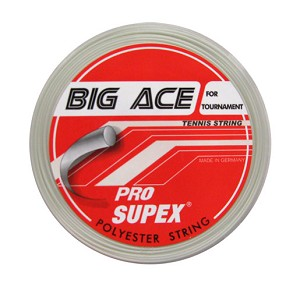 PRO SUPEX BIG ACE PEARL WHITE STRINGS 16G/1.28MM