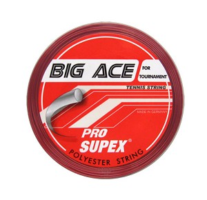 PRO SUPEX BIG ACE RED TENNIS STRINGS 17G/1.25MM