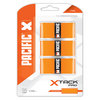 PACIFIC X Tack Pro 3 Pack Orange Tennis Overgrip