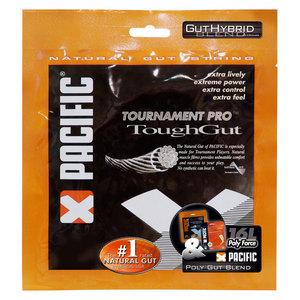 PolyGut ToughGut Hybrid 17 and 16L Tennis Strings