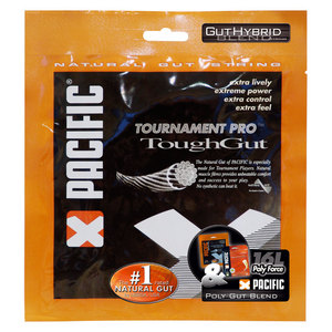 PolyGut ToughGut Hybrid 16L and 16 Tennis Strings