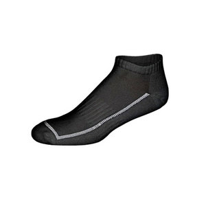 FEETURES LOW CUT LIGHT SOCKS BLACK