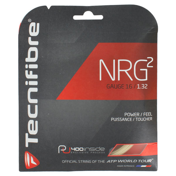 Nrg2 16g Tennis Strings Natural