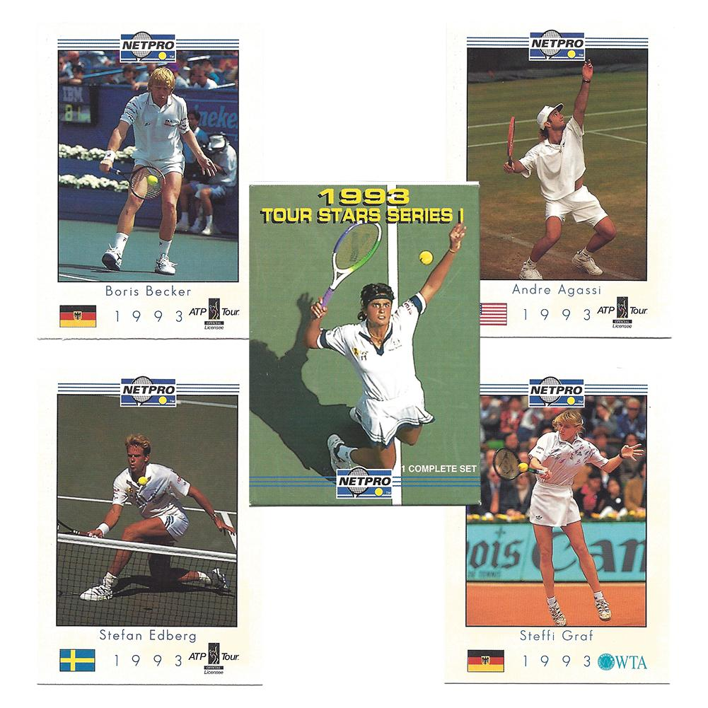 Tour Star Tennis Card Set