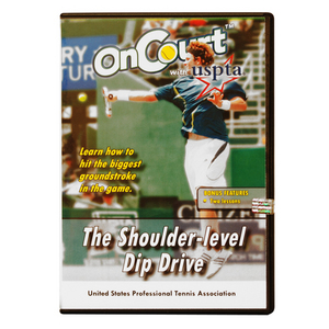 USPTA THE SHOULDER-LEVEL DIP DRIVE DVD