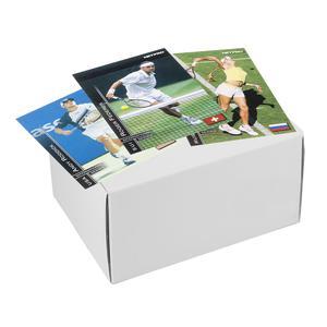 NETPRO International Series Tennis Collector Card Set (Unmarked White Box)