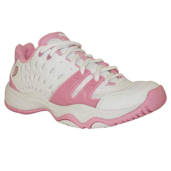 T22 Girl's Tennis Shoes White Pink