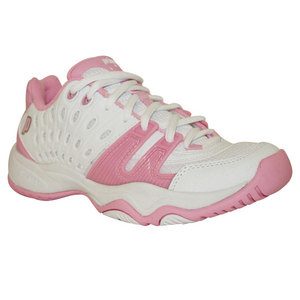 T22 Girl`s Tennis Shoes White Pink
