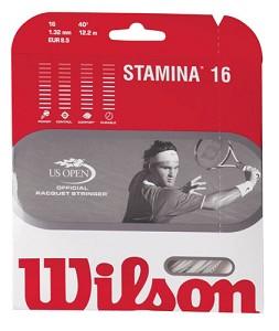 WILSON STAMINA 16 STRING - WHITE