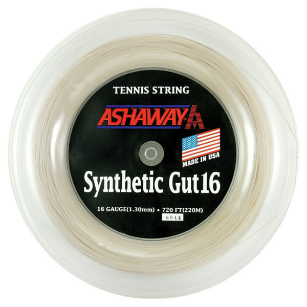 Synthetic Gut 16g Reel 720 ` White