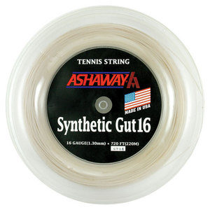 ASHAWAY SYNTHETIC GUT16G REEL 720 WHITE