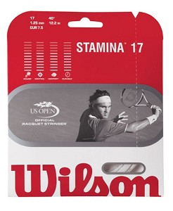 WILSON STAMINA 17 STRING - WHITE