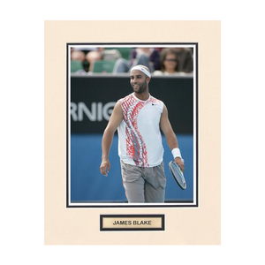 ACE AUTHENTIC JAMES BLAKE MATTED PHOTO 6