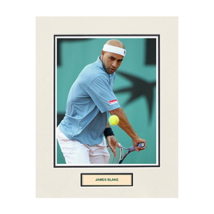 ACE AUTHENTIC JAMES BLAKE MATTED PHOTO 7