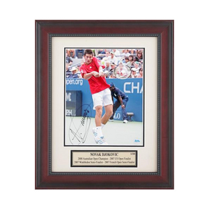 ACE AUTHENTIC NOVAK DJOKOVIC AUTOGRAPHED PHOTO