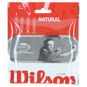 WILSON NATURAL GUT 17G STRINGS