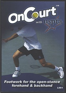 USPTA Footwork For The Open Stance