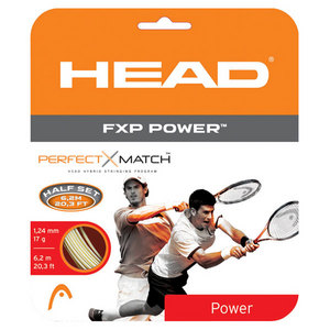 HEAD FXP POWER 17G 1/2 SET NATURAL