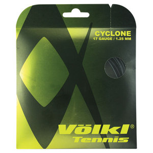 VOLKL CYCLONE 1.25/17G BLACK TENNIS STRINGS