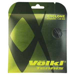 VOLKL CYCLONE 1.30/16G BLACK TENNIS STRINGS