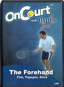 USPTA The Forehand-Flat, Topspin, Slice