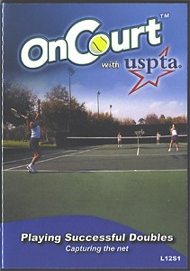 USPTA Playing Successful Doubles Capturing Net