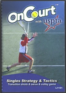 USPTA SINGLES-TRANSITION SHOTS, SERVE, VOLLEY