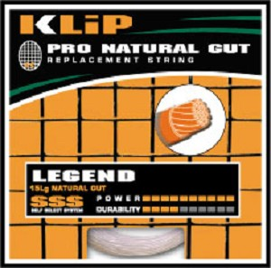 KLIP LEGEND NATURAL GUT 15L