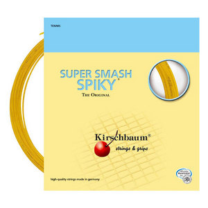 KIRSCHBAUM SUPER SMASH SPIKY 18G STRINGS 1.20