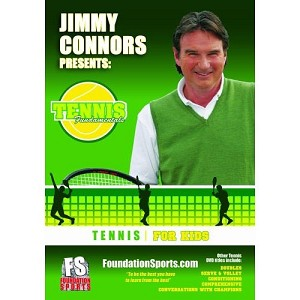 TENNIS FUNDAMENTALS Jimmy Connors For Kids DVD