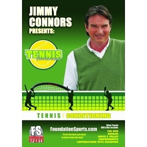 TENNIS FUNDAMENTALS Jimmy Connors Conditioning DVD