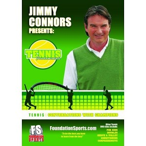 TENNIS FUNDAMENTALS Jimmy Connors Conversations DVD