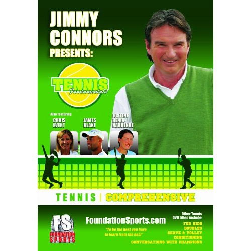 Jimmy Connors Comprehensive Dvd