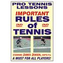 JAMES JENSEN The Rules Of Tennis