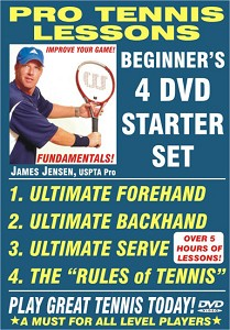 JAMES JENSEN Pro Tennis Starter Set 4 DVD