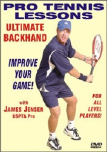 JAMES JENSEN Ultimate Backhand DVD