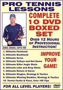 JAMES JENSEN Pro Tennis Boxed Set 10 DVD