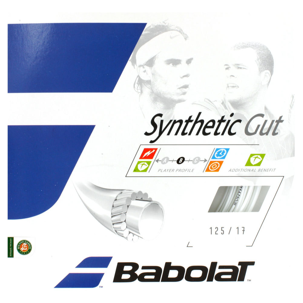 Synthetic Gut 17g White Strings