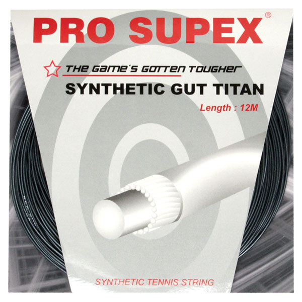Synthetic Gut Spiral Titan 17g 1.25mm