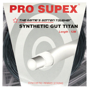 PRO SUPEX SYNTHETIC GUT TITAN 16G/1.30MM