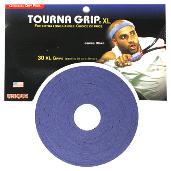 Tourna Grip 30 Grip Pack - XL Blue
