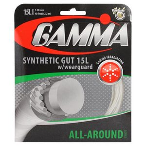 GAMMA SYNTHETIC GUT W/WEARGUARD 15L