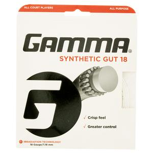 Synthetic Gut 18G Tennis String White