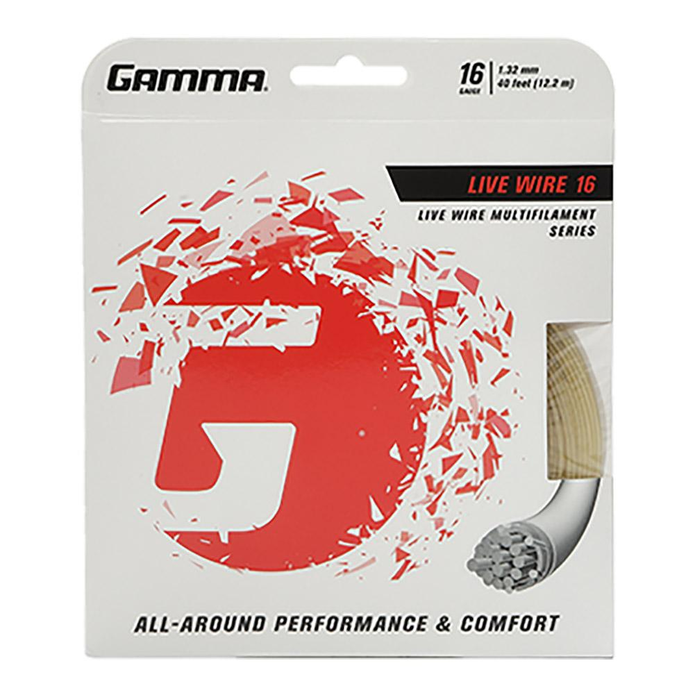 Gamma TNT2 Touch Tennis String Reel Natural