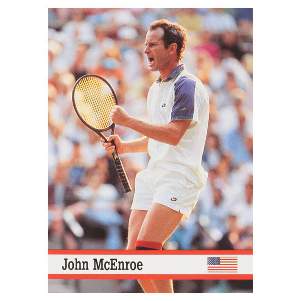 John Mcenroe World Of Sports Card