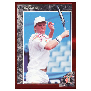 TENNIS EXPRESS JIM COURIER RED FOIL LEGENDS CARD