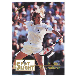 TENNIS EXPRESS MARTINA NAVRATILOVA SPOTLIGHT CARD - LIM